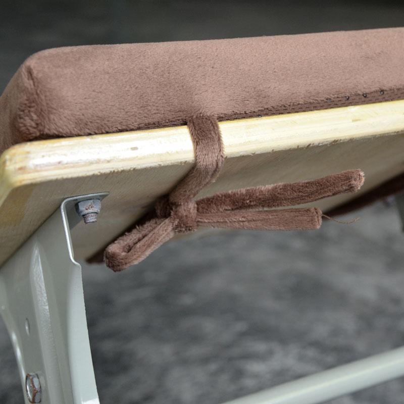 新款爱之舟记忆棉绑带学生坐垫教室椅子坐垫宿舍椅垫长方形防滑屁