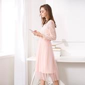 S117A15003 连衣裙时尚 女装 优雅套装 针织衫 OSA欧莎2017春季新款