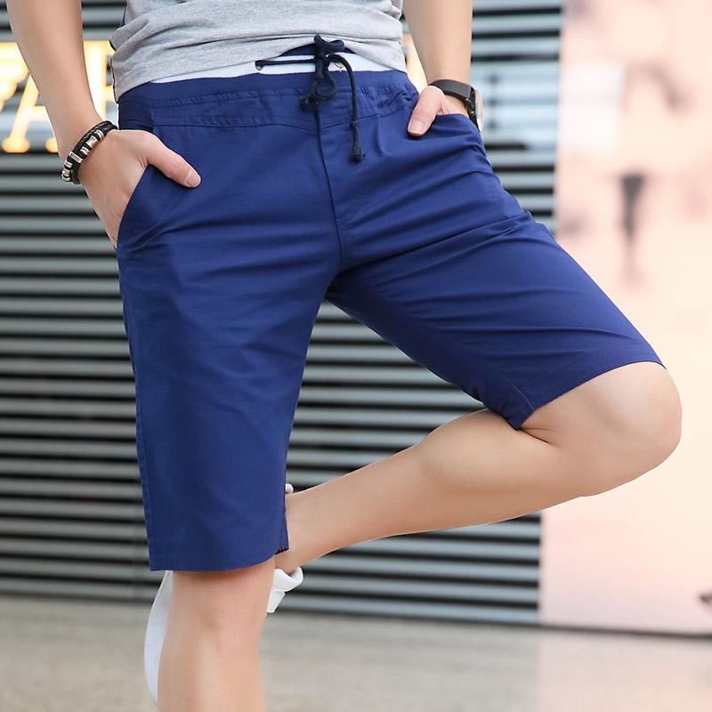 夏天裤衩五分宽松沙滩马裤休闲裤子夏季男士短裤运动