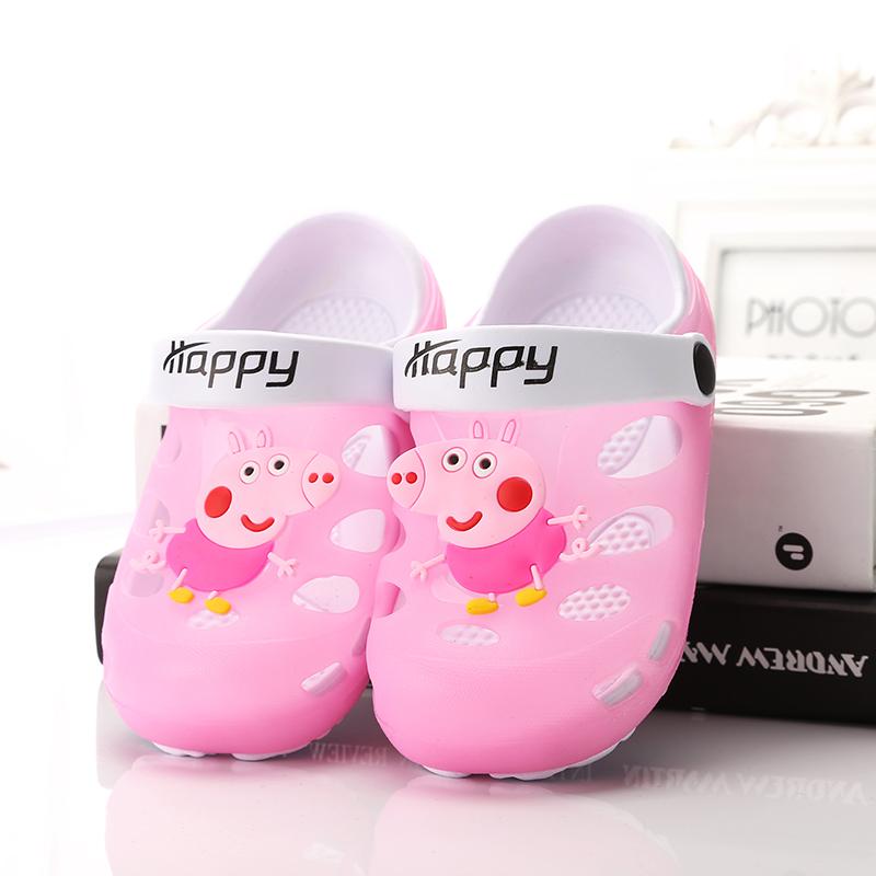 【包邮】小猪佩奇儿童凉拖鞋