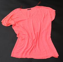 300斤可穿 大码舒适棉麻短袖无袖T恤 运动健身跑步 蝙蝠衫