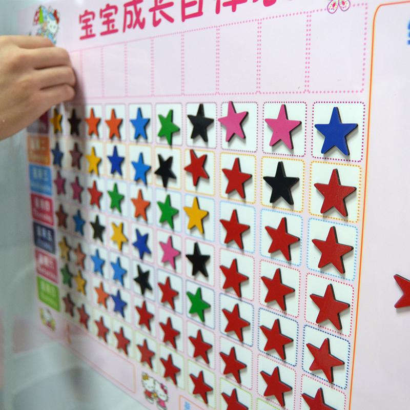 幼儿园小红花榜展示墙图片