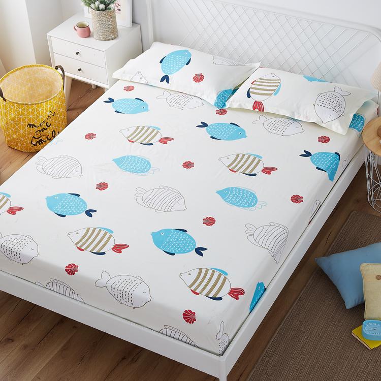 米床 床垫席梦思床罩护套罩单件床套 床单防滑