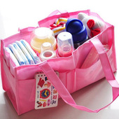 婴儿妈妈包分隔袋内胆妈咪包多功能大容量母婴包宝宝外出手提袋子