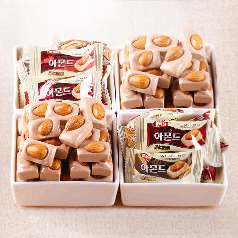 婚庆福建奶脆糖坚果糖果零食送礼散装特产果仁 麦德好