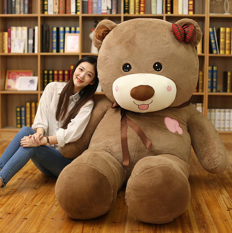 大熊2米3超大号玩偶狗熊毛绒玩具泰迪熊猫娃娃可爱公仔抱抱熊女生