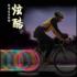 自行车风火轮 气门芯山地车气嘴灯 七彩灯骷髅鬼头灯