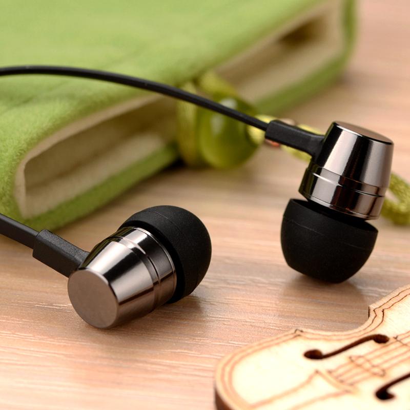 电脑手机魔音重低音面条线控耳塞带麦 mp3 通用入耳式耳机 X1 Fokoos
