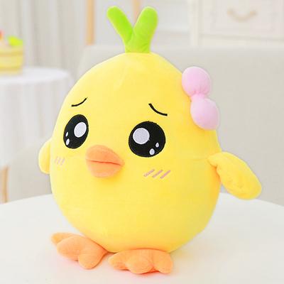 小鸡公仔可爱小黄鸡毛绒玩具女生布娃娃抱枕玩偶儿童女孩生日礼物