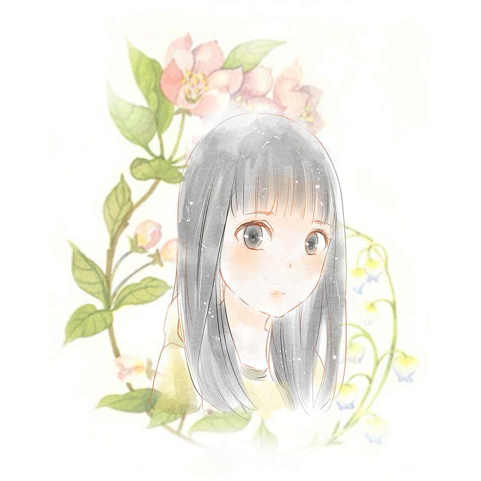 q版头像漫画设计定制动漫人物 水彩婚礼q漫画 真人照片转手绘情侣