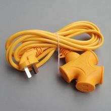 30米家用带线电源插座插板3米电车充电接线板大字插排插5米