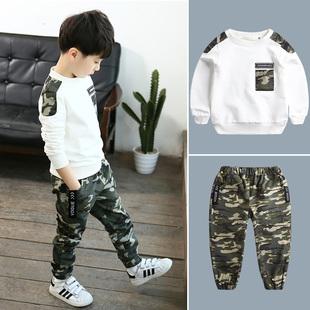 儿童男韩版衣服套装