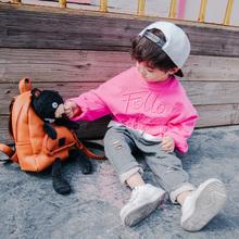 男童春秋款2017套头卫衣纯棉韩版中小童儿童刺绣童装宝宝上衣衣服
