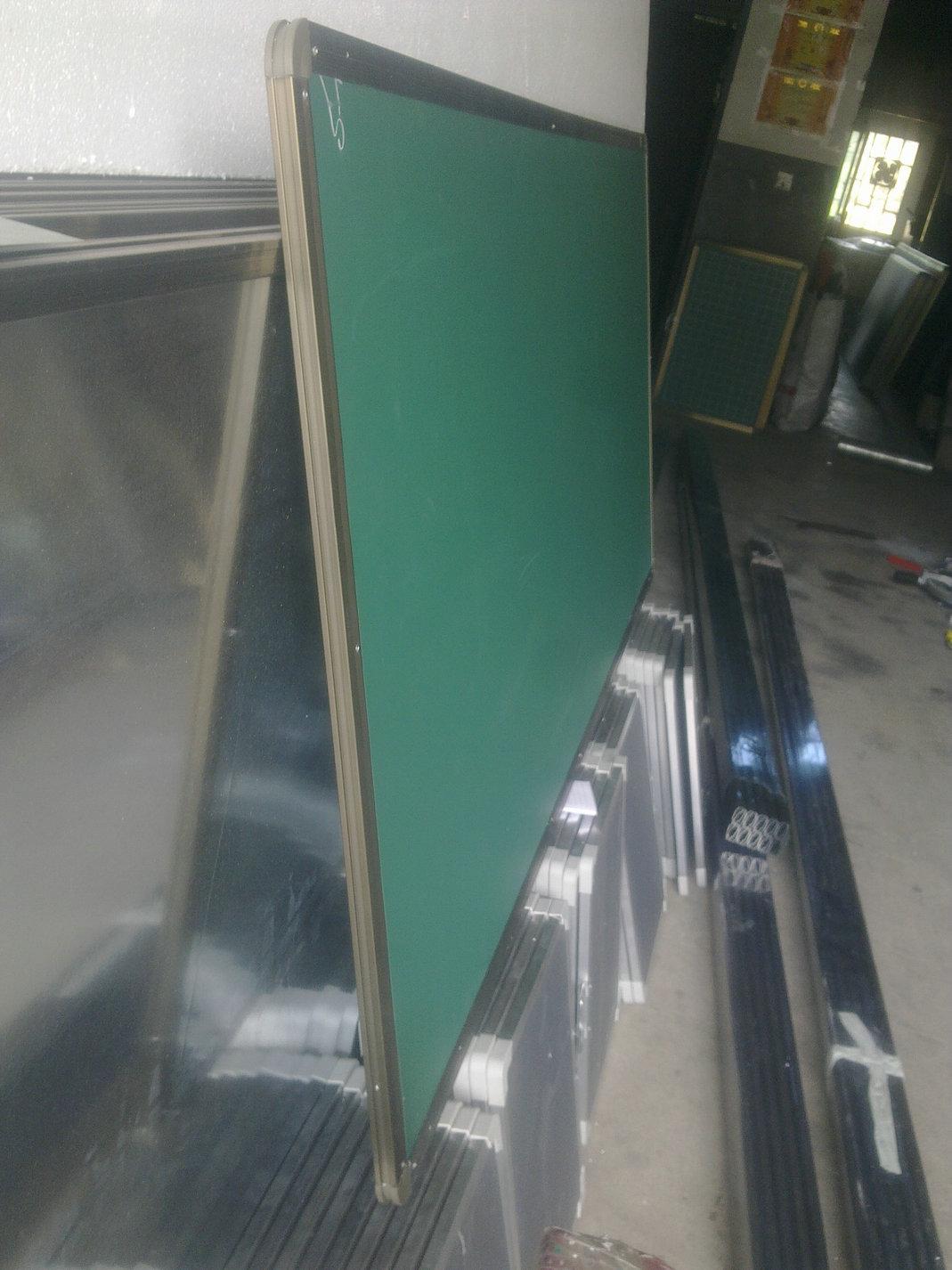 教学黑板 白板 绿板 留言板 磁性黑板 (100*200)