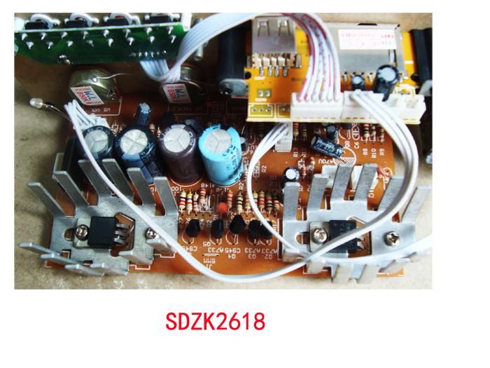 厂家直销家俱音响功放配件501家用hifi舞台大功率音箱读卡主板