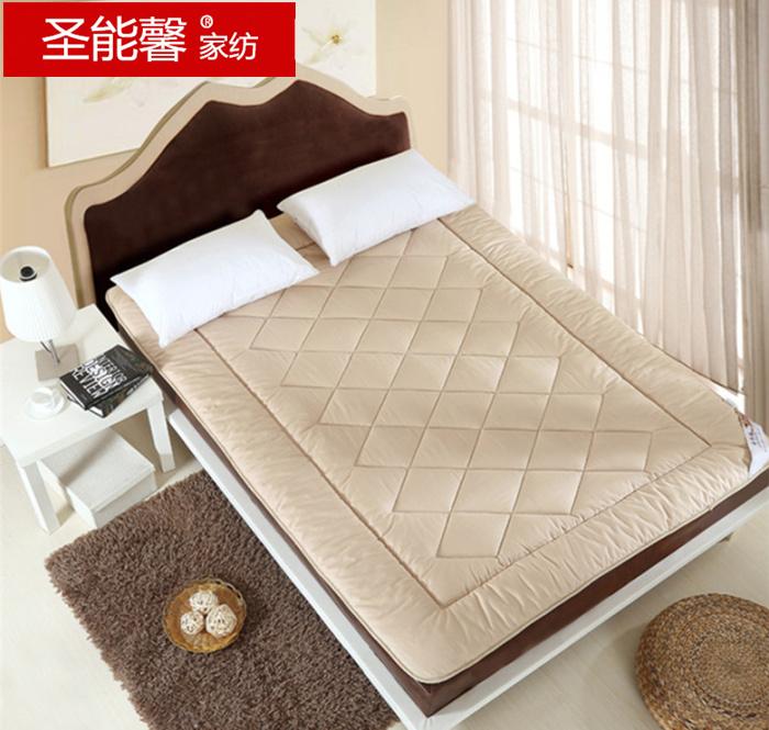 圣能馨家纺桑蚕丝床垫全棉床褥 垫被榻榻米双人褥子护垫1.5m1.8米