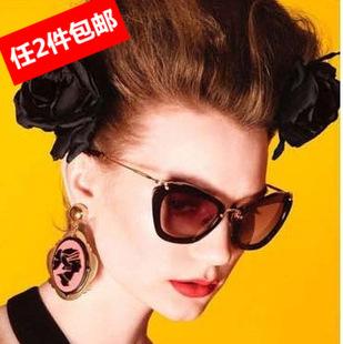 韩版复古杨幂同款太阳镜女士墨镜户外护目眼镜遮阳镜19.9包邮
