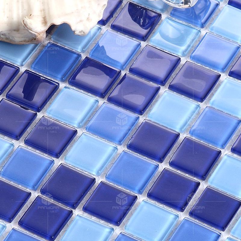 潘朵拉水晶泳池马赛克瓷砖厨房墙贴浴室游泳池卫生间防滑耐磨
