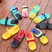 拖鞋 dopie潮拖男 男女情侣豆皮拖鞋 人字拖防滑夹趾沙滩鞋 夏季个性