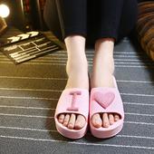 夏季浴室拖鞋男女居家用室内防滑厚底夏天情侣家居塑料时尚凉拖鞋