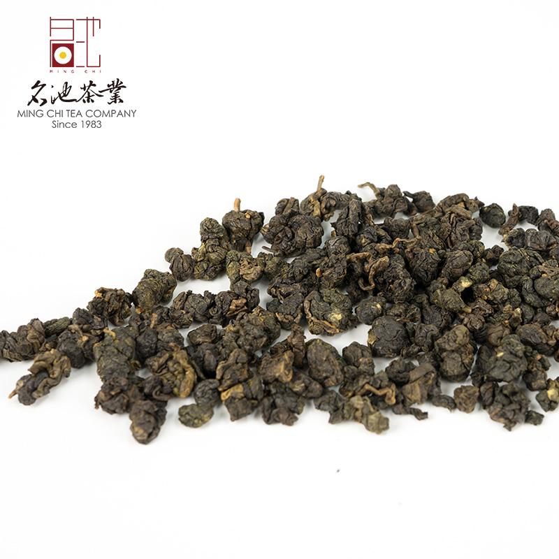 300g 名池台湾进口油切黑乌龙炭焙老乌龙熟茶高山乌龙茶阿里山熟香