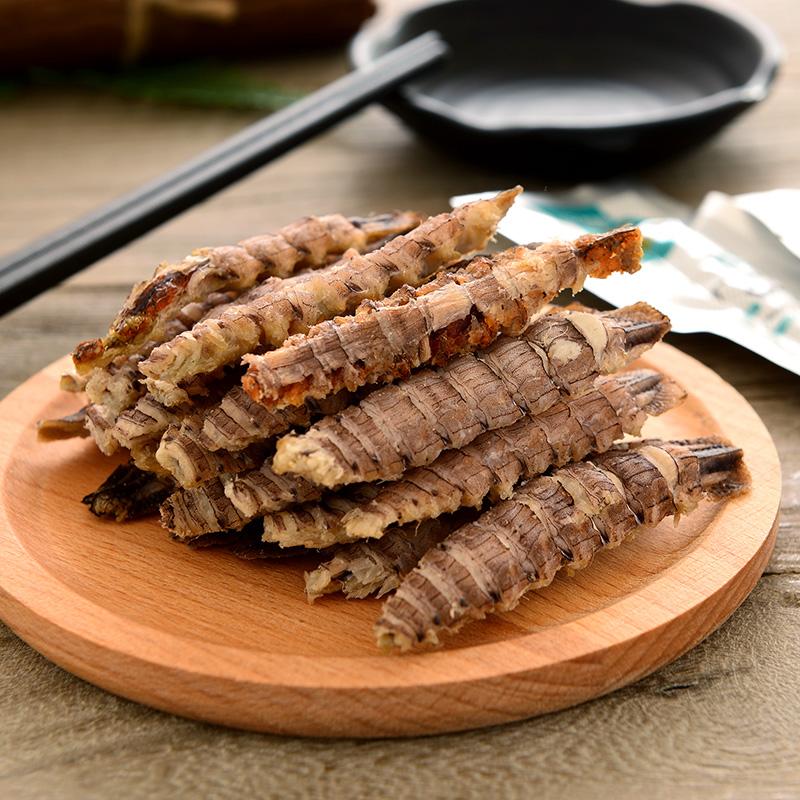 烤虾干皮皮虾即食海鲜孕妇零食山东特产小吃无添加琵琶虾肉干包邮