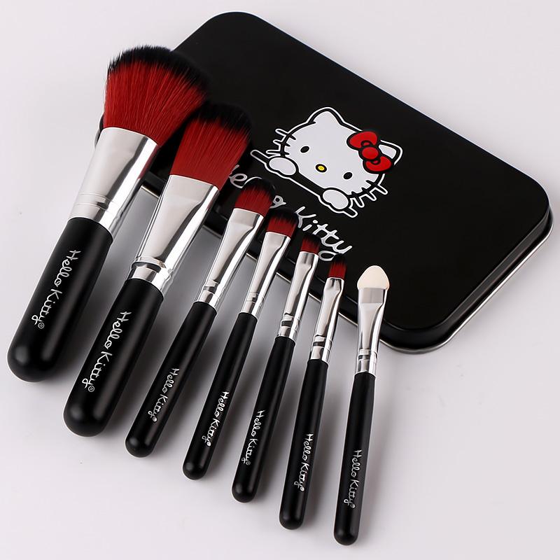 化妆刷子美妆工具套装全套组合7支初学者粉底刷腮红刷眼影刷