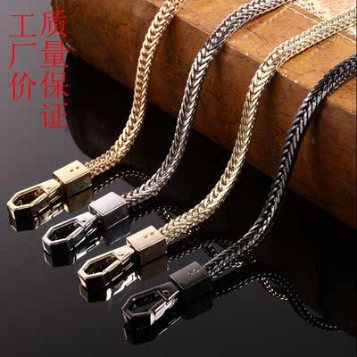 女包带高档女包链条配件可拆卸不掉色包包链条单买配包包链条带
