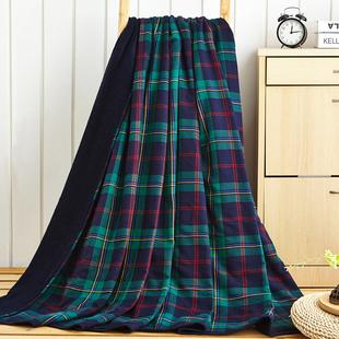 夏凉毛巾单面毯子毛圈单双人空调毯被子纱布纯棉盖毯