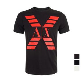 美国直邮Armani Exchange/阿玛尼AX男新款纯棉圆领短袖T恤