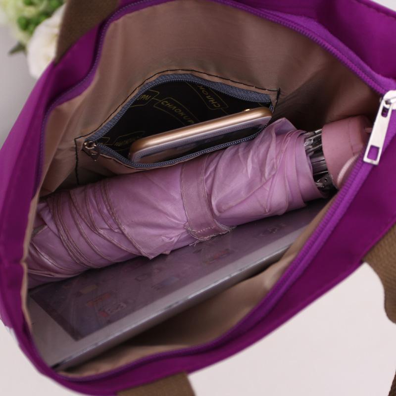 手提包便当包牛津布女帆布包女单肩手提小包妈咪包包 天天特价