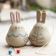 龙猫陶瓷风铃挂件 日本晴天娃娃小风铃批发挂饰门饰铃铛儿童礼物