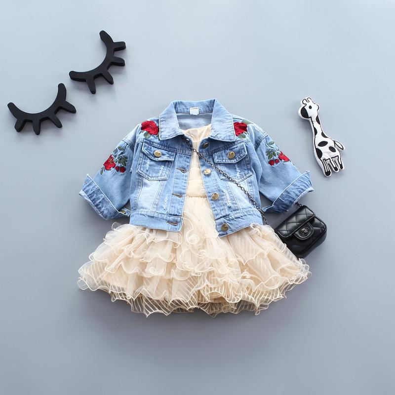 宝宝时尚春装外套婴儿牛仔童装女童