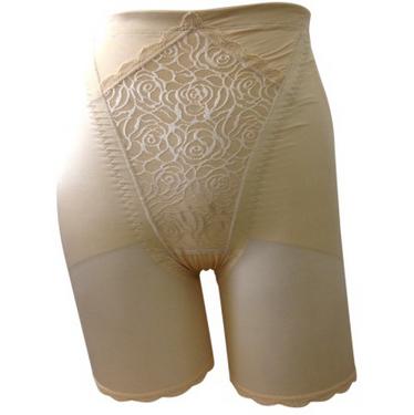 娅茜内衣夏季女士正品性感高腰塑身美体裤三分短裤修身90038K