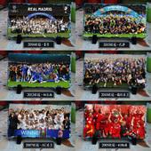 历界欧冠世界杯西班牙阿森纳切尔西红魔皇马利物浦AC米兰阵容摆件