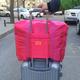 韩版便携式出差行李包可折叠防水衣物整理包大容量男女手提旅行包