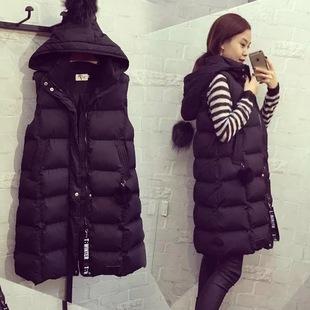 新款韩版加肥加大码棉衣女装胖mm冬季马甲200斤加厚羽绒棉服外套