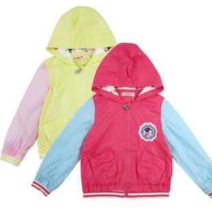 【3.8折专柜代购】ddung冬己女童装休闲外套夹克防晒衣上衣122602