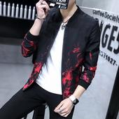 男夹克春秋2017外套新款潮休闲青少年大码男士棒球服韩版修身外穿