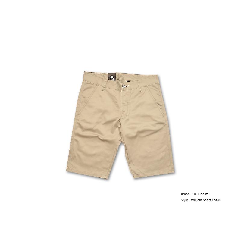 瑞典品牌Dr. Denim William Short Khaki 經典款窄版休閒短褲