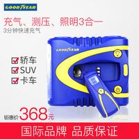 固特异 汽车车载车用充气泵大气泵 自动预设胎压数控胎压打气泵