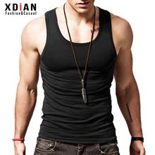 男士背心青年健身无袖紧身运动跨栏打底汗修身型纯棉透气贴身夏季