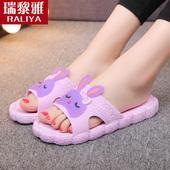 夏天情侣可爱防滑女士凉拖鞋夏季男室内家居浴室居家用洗澡托韩版