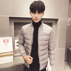 新款冬季棉衣男韩版青年加厚修身棉服男短款潮流冬装男士棉袄外套