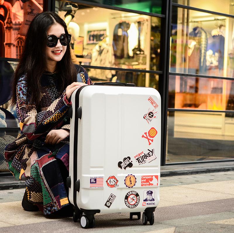 行李箱登机男女 拉杆密码箱旅行学生万向轮