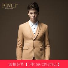 PINLI品立英绅 秋冬新品时尚男装 修身休闲西装男西服外套潮 7326