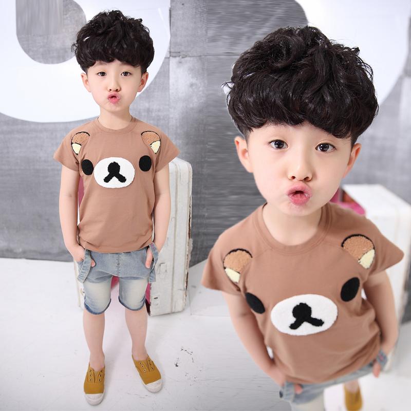 寶寶休閑套裝小童兒童 童裝男童夏裝短袖夏季
