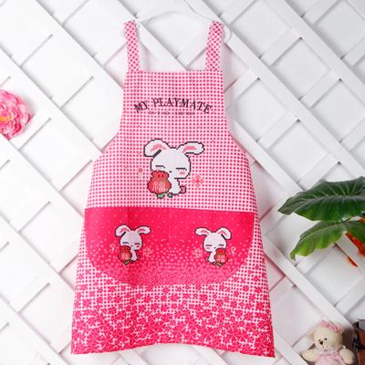 韩版时尚情侣福兔围裙(两条价)