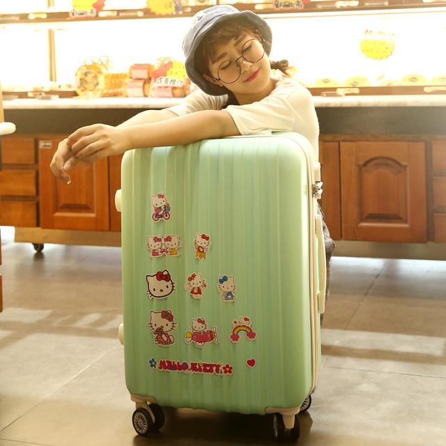 24寸男女行李箱包 登机箱硬20 ULDUM拉杆箱万向轮旅行箱子密码