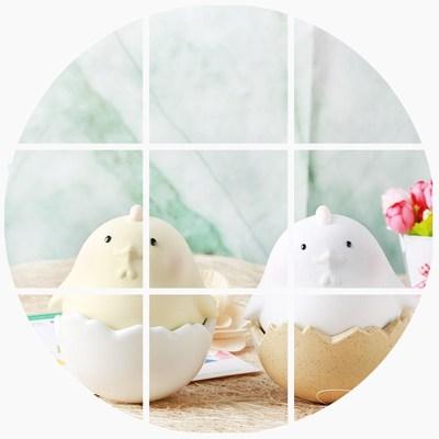 原来是泥|2017鸡年纳福大吉大利陶瓷家居摆件不倒翁新年礼品萌物